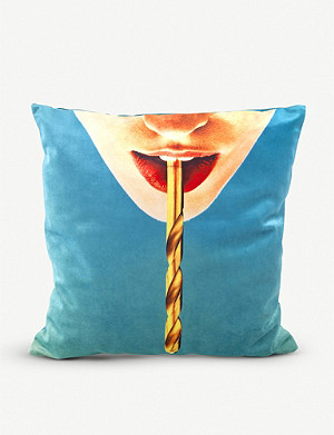 SELETTI Drill cushion cover 50cm x 50cm