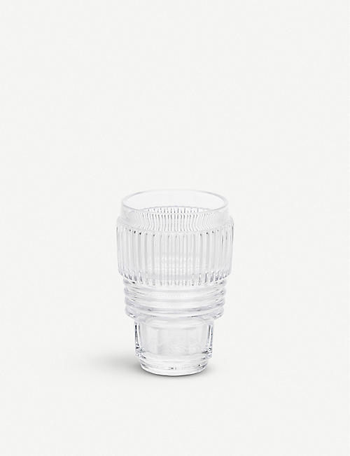 SELETTI: Set of three drinking glasses 13cm