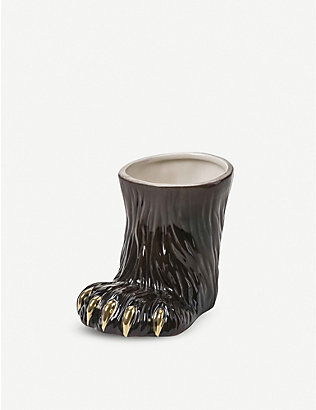 SELETTI: Seletti X Diesel Party Animal dolomite paw cup