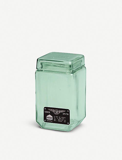 SELETTI: Surplus Storage glass jar 11cm