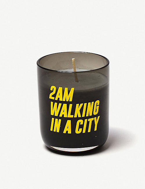 SELETTI: Memories 2am Walking In The City scented candle 110g