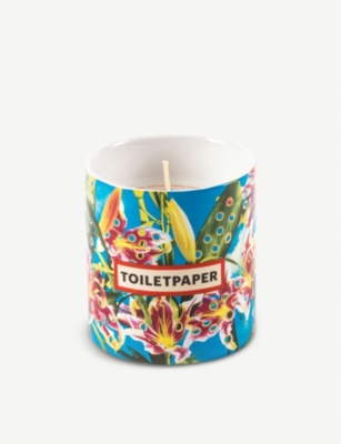 SELETTI Seletti Wears Toiletpaper Flower porcelain scented candle 8.5cm