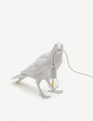 SELETTI Bird resin indoor lamp 32cm