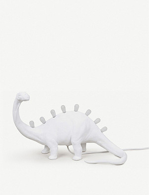 SELETTI Jurassic Bronto resin table lamp