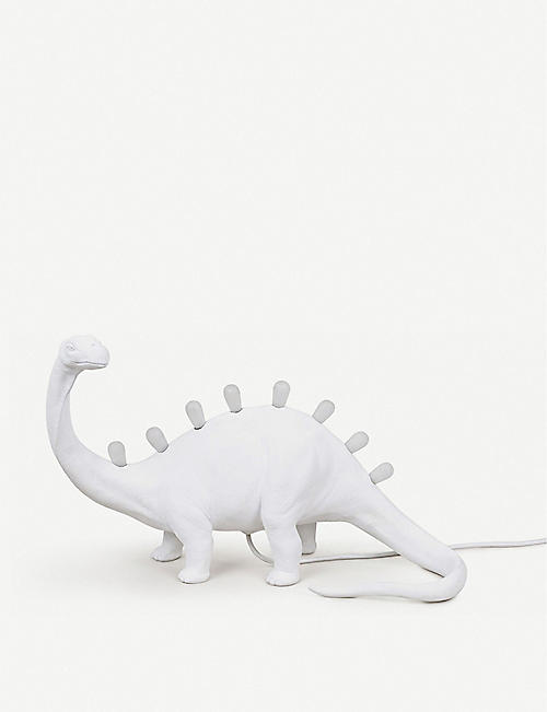 SELETTI: Jurassic Bronto resin table lamp