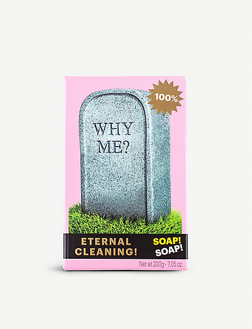 SELETTI Seletti Wears Toiletpaper Why Me? tombstone soap