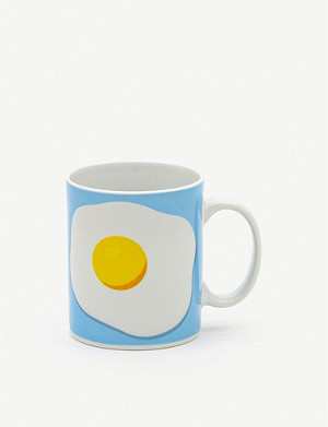 SELETTI Studio Job Egg porcelain mug