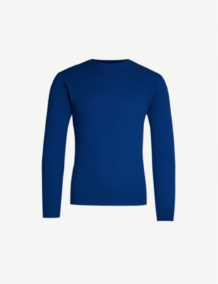 BENETTON Unisex long-sleeved cashmere jumper