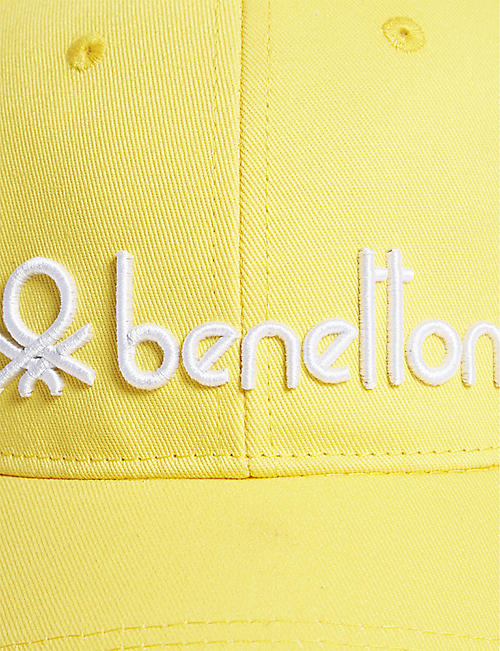 BENETTON Unisex logo-embroidered cotton cap