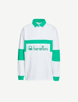 Pórtico objetivo longitud  United Colors of Benetton Damen Polo Poloshirt Tops, T-Shirts & Blusen Damen