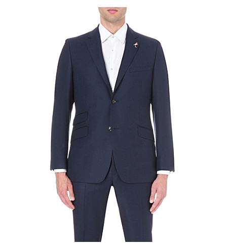 f011e22a0 TED BAKER Sterling wool suit jacket (Blue