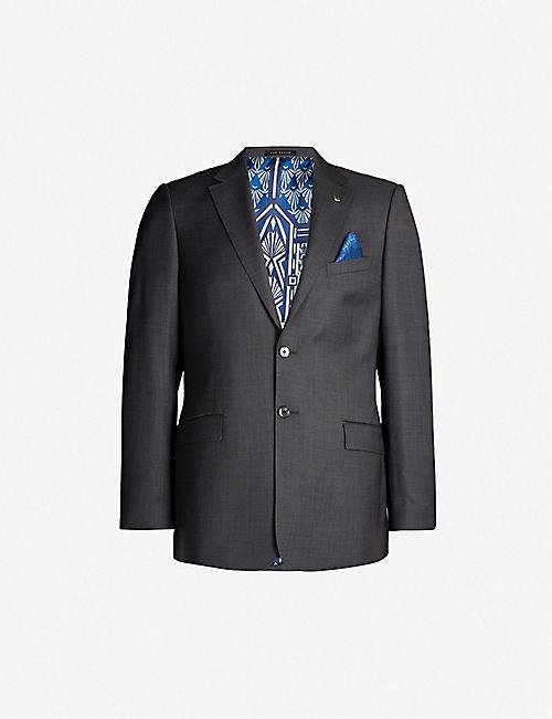 7e531f6d6 TED BAKER Phormal modern-fit wool blazer