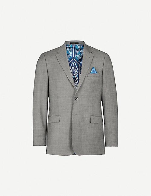3e97b7cbf TED BAKER Phormal modern-fit wool blazer