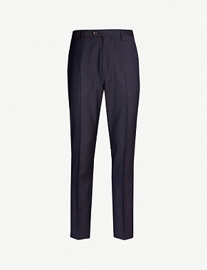TED BAKER Buttert slim-fit straight wool suit trousers
