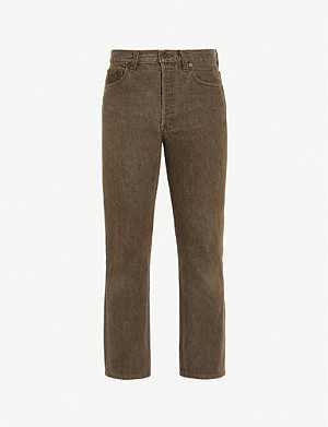 LEVIS VINTAGE 1980 501 regular-fit straight jeans