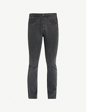 LEVIS VINTAGE 501 1990s regular-fit straight jeans