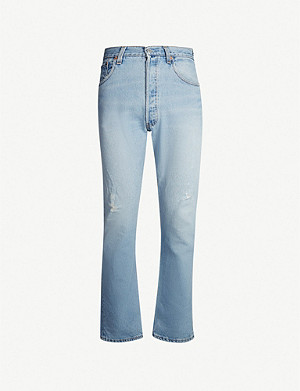 LEVIS VINTAGE 501 1980s regular-fit striaght jeans
