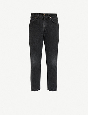 LEVIS VINTAGE 550 1980s regular-fit straight jeans
