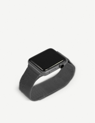 MINTAPPLE Apple Watch Space Grey milanese loop strap 38mm/40mm