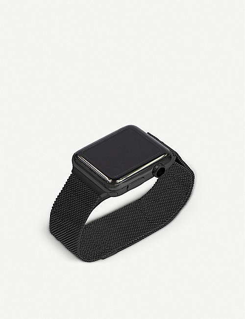 MINTAPPLE Apple Watch Space Black milanese loop strap 38mm/40mm