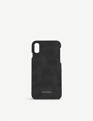 MINTAPPLE iPhone X suede case