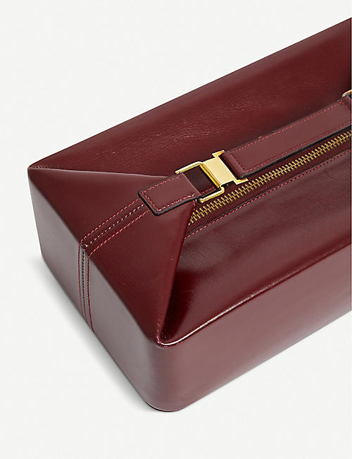 VESTIAIRE COLLECTIVE Hermès leather vanity case