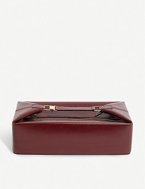 VESTIAIRE COLLECTIVE: Hermès leather vanity case
