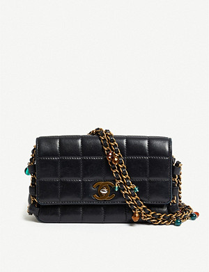 VESTIAIRE COLLECTIVE Chanel quilted mini leather shoulder bag
