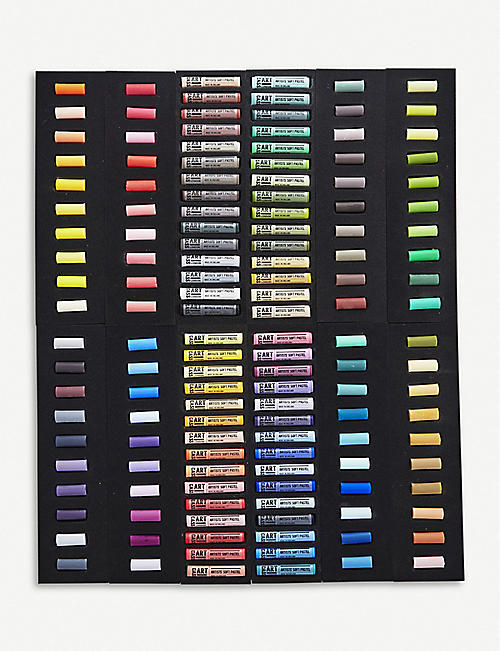 CASS ART Soft Pastels 60 full and 80 half set