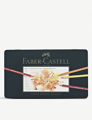 CASS ART Faber-Castell Polychromos pencils set of 60