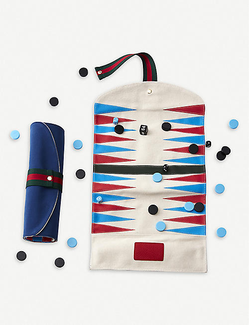 NOT ANOTHER BILL: Portable backgammon set