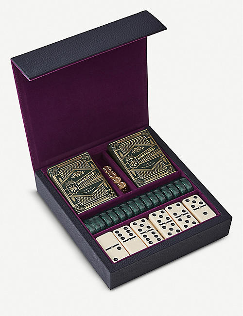 NOT ANOTHER BILL Luxe cards and dominos gaming set
