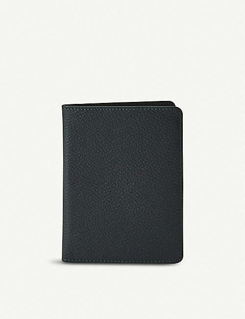 NOT ANOTHER BILL Leather passport folio