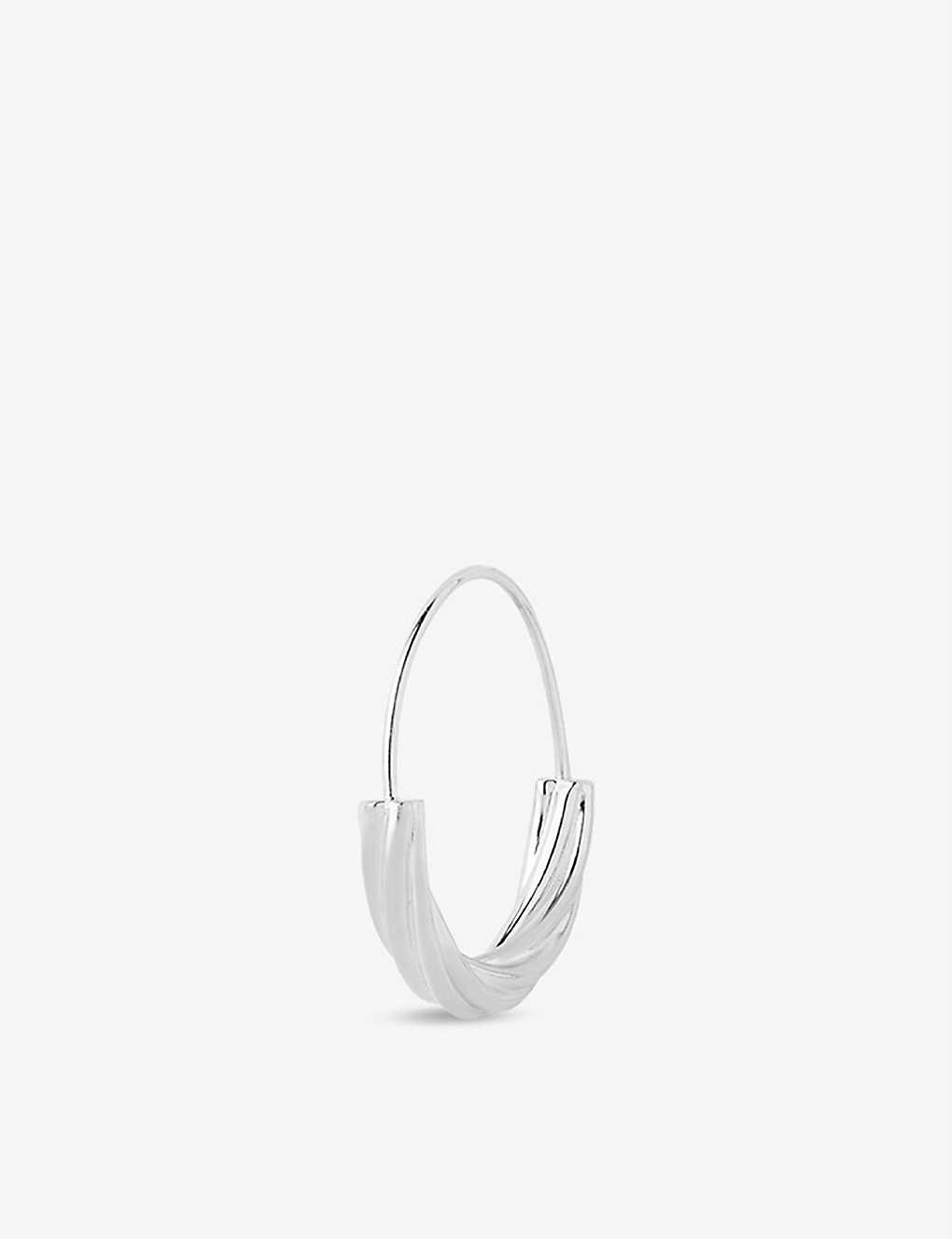 MARIA BLACK: Tove sterling silver small hoop earring