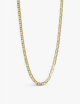 MARIA BLACK: Carlo curb chain necklace