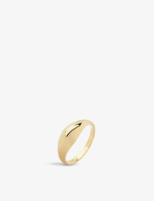 MARIA BLACK Esther 18ct yellow gold-plated ring