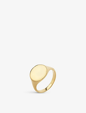 MARIA BLACK Ready Heart gold-plated ring