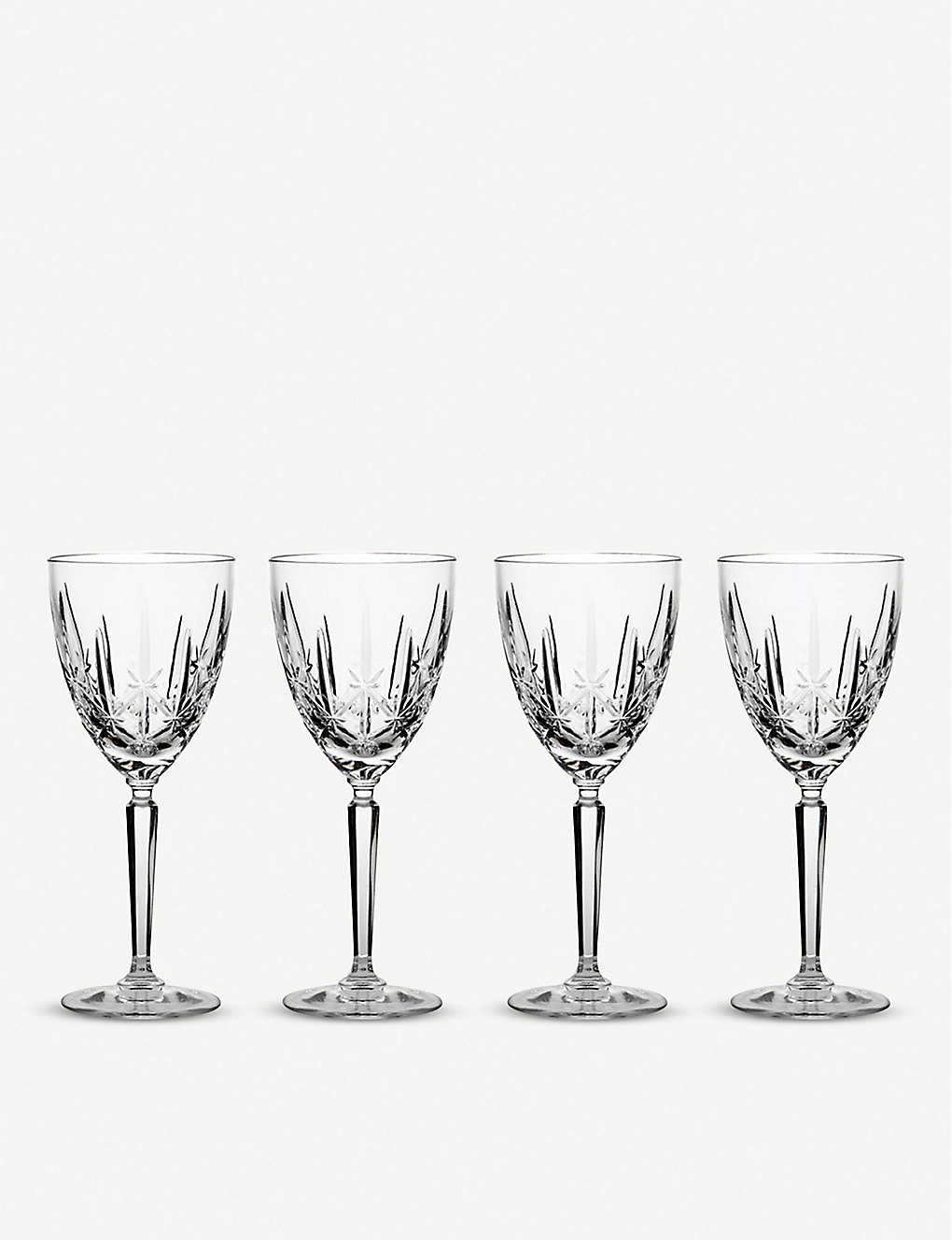 WATERFORD: Marquis Sparkle oversized goblets set of four