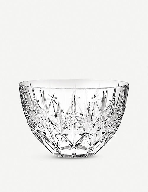 WATERFORD: Marquis Sparkle crystal bowl 23cm