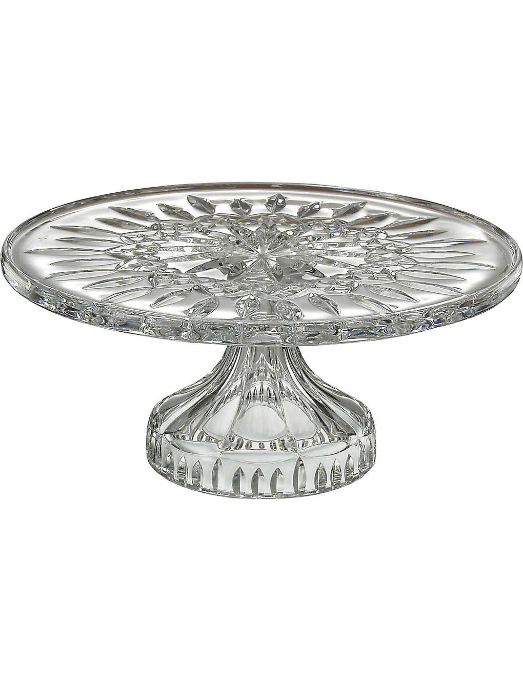 WATERFORD: Lismore crystal cake plate