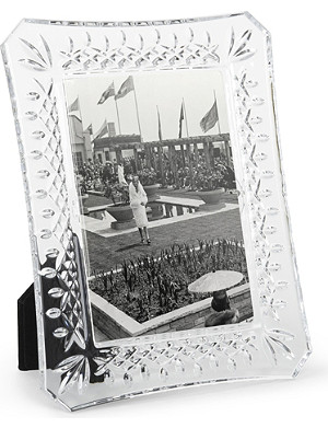 "WATERFORD Lismore photo frame 4"" x 6"""