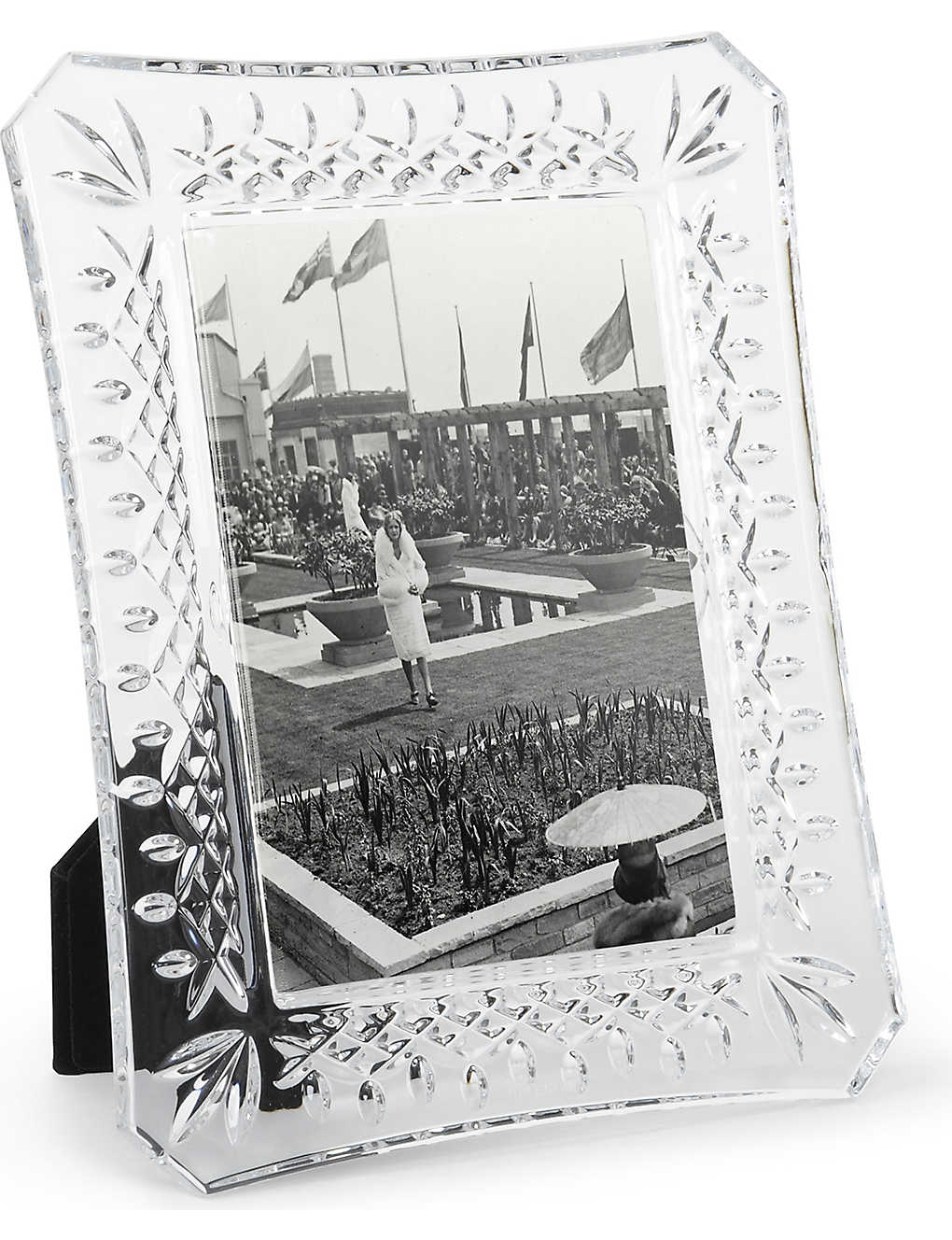 "WATERFORD: Lismore photo frame 4"" x 6"""