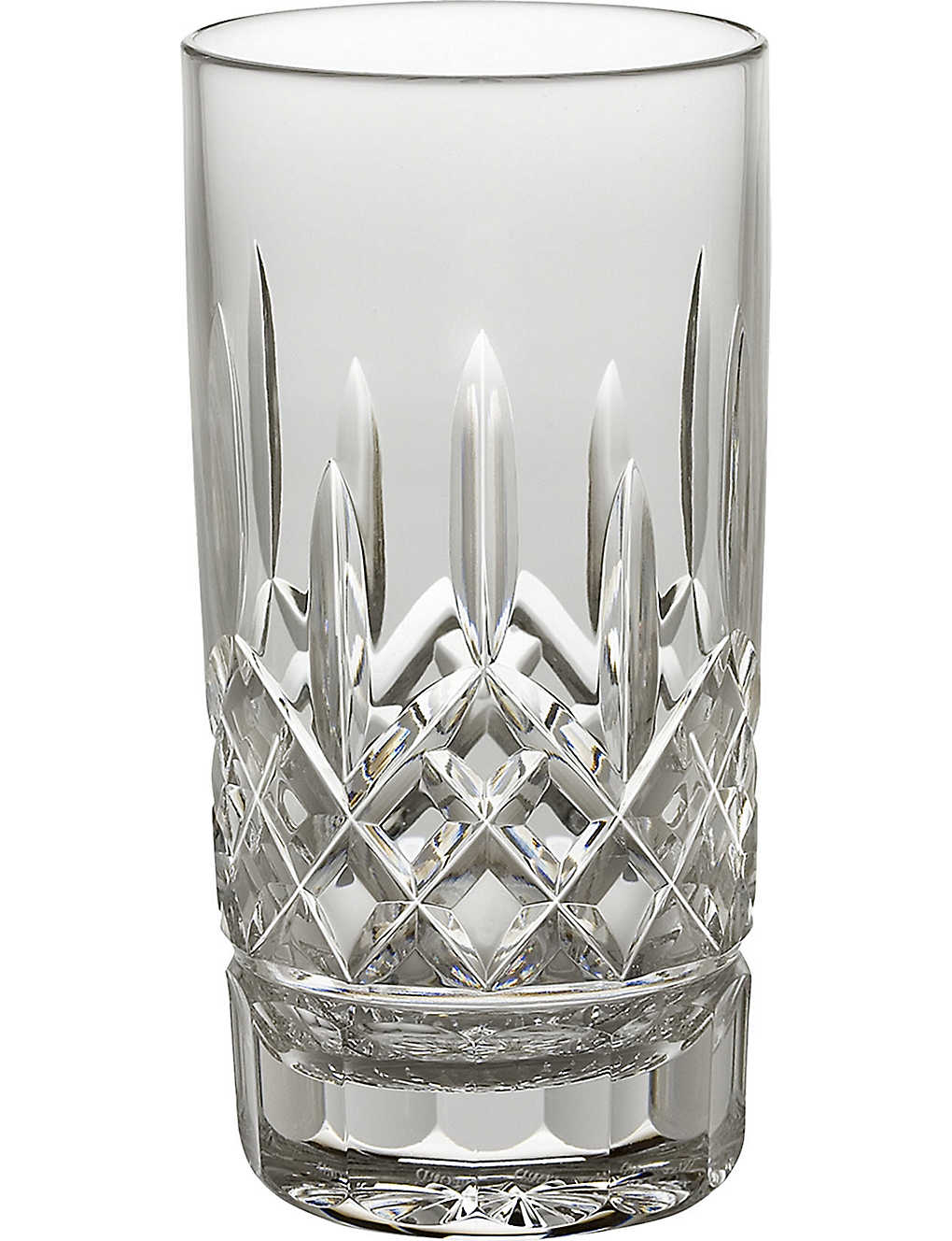 WATERFORD: Lismore crystal highball tumbler