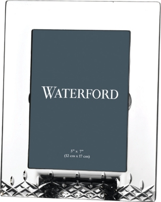 "WATERFORD Lismore Essential crystal photo frame 5"" x 7"""