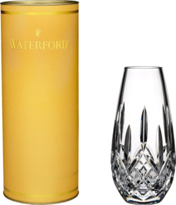 WATERFORD Lismore honey bud vase