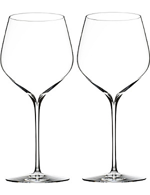 WATERFORD Set of two Elegance Cabernet Sauvignon wine glasses