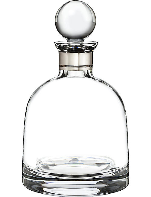 WATERFORD: Elegance short decanter with stopper