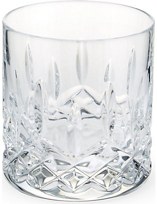 WATERFORD: Lismore Connoisseur Straight crystal tumblers set of two