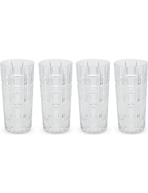 WATERFORD Marquis crosby hiball set 4 pieces