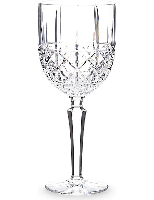 WATERFORD: Marquis Brady crystalline wine glass set of 4